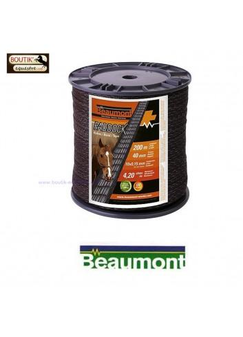 Ruban Paddock 40 mm - marron