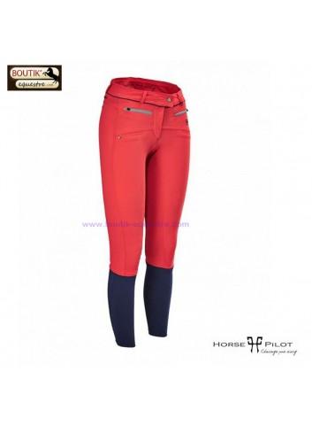 Pantalon Horse Pilot femme - rouge