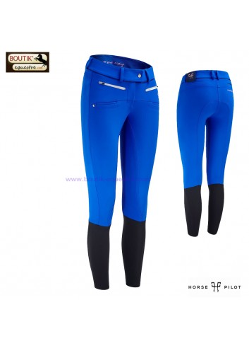Pantalon Horse Pilot femme - bleu