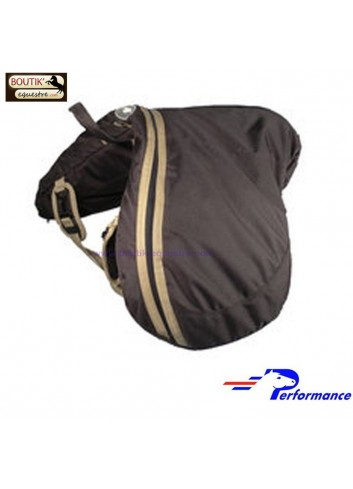 Sac a selle PERFORMANCE - marron
