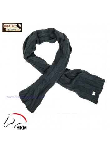 Echarpe HKM Paris - bleu fonce