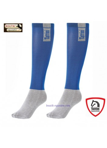 Chaussettes TATTINI Tubulaires - bleu