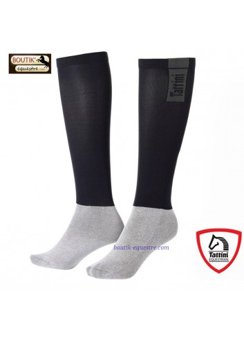 Chaussettes TATTINI Tubulaires - noir