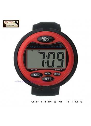 Chronometre Optimum Time - rouge