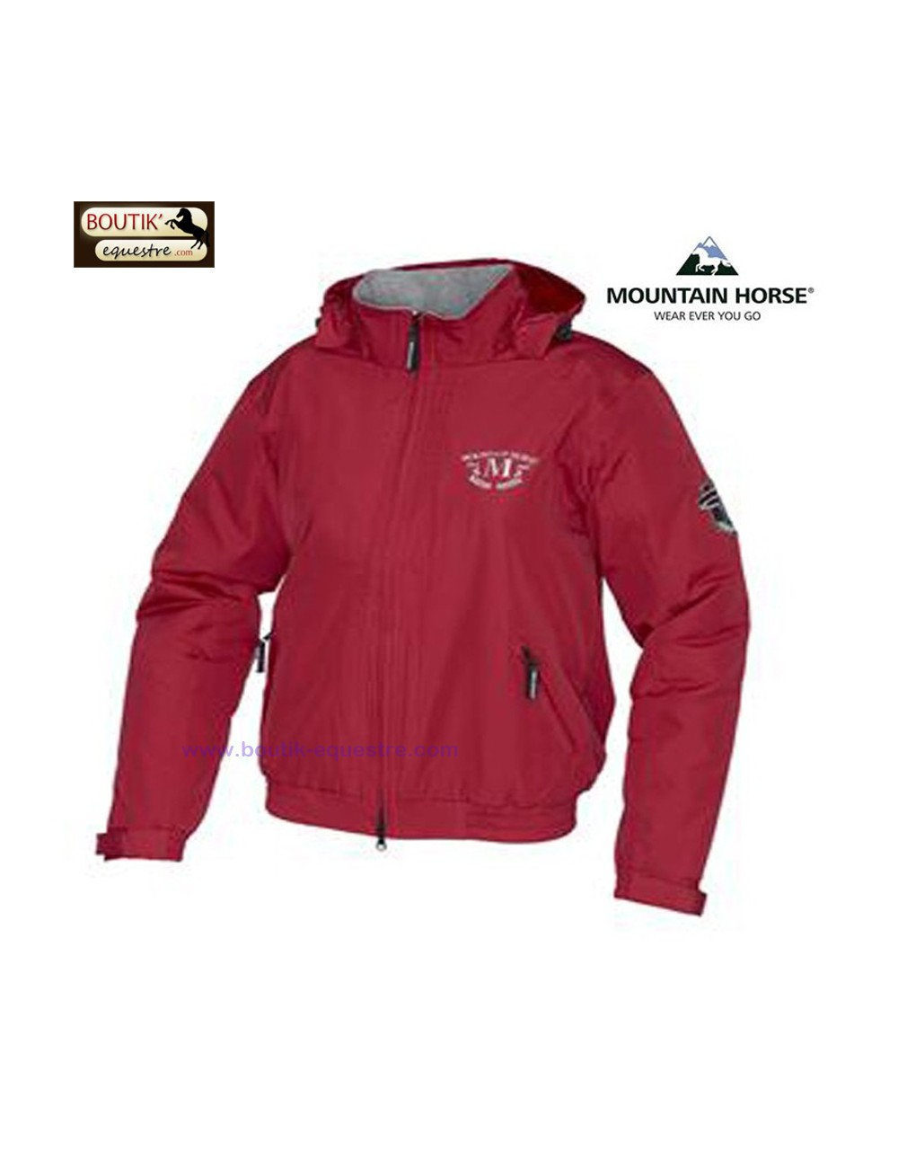 Crew Jacket jr Mountain Horse