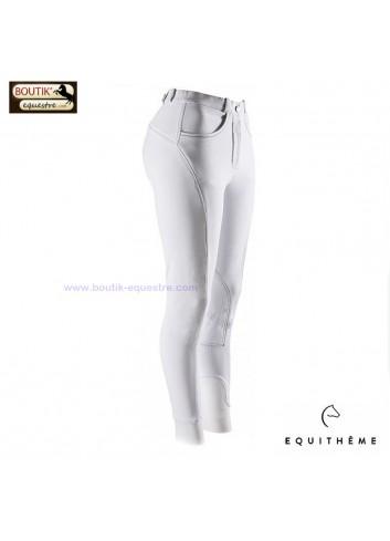 Pantalon EQUI THEME AGATE - blanc