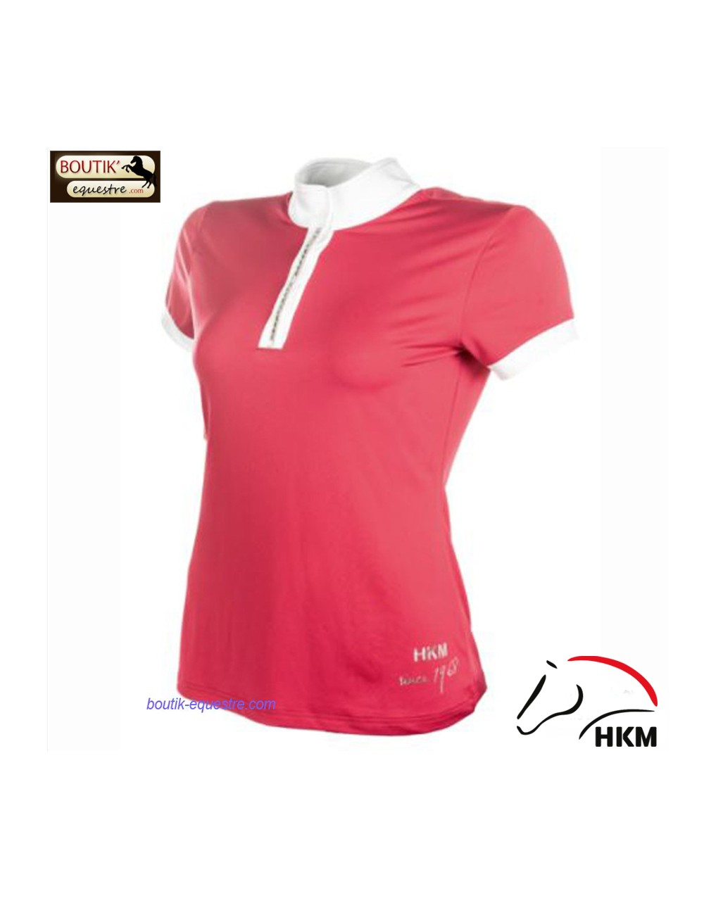 Polo concours HKM Crystal