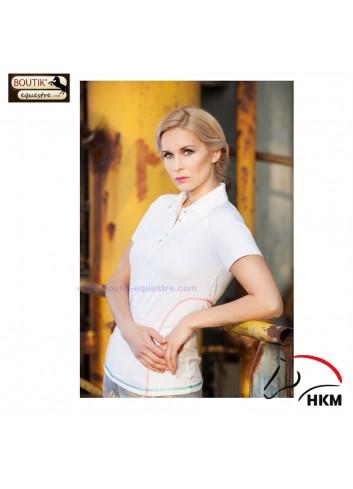 Polo HKM Palermo - blanc