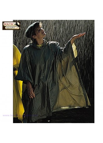 Poncho impermeable - olive
