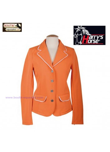 Veste concours Harry s Horse ST Tropez - orange