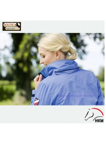 Veste HKM International - bleu cobalt