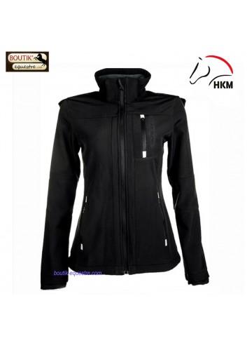 Veste HKM sport Softshell - noir