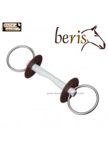 Mors Beris 2 anneaux canon confort - d anneaux 6 cm canon soft
