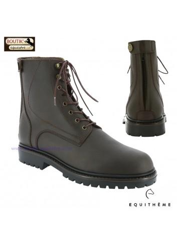 Boots EQUITHEME Zéphir - brun