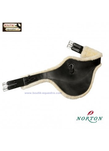 Sangle bavette NORTON PRO doublée - noir
