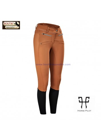Pantalon Horse Pilot femme - gold earth