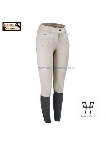 Pantalon Horse Pilot femme - hunter