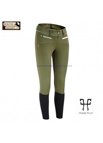 Pantalon Horse Pilot femme - kaki