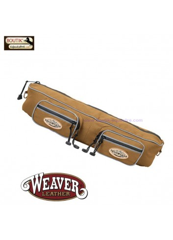 Sacoches boudin  WEAVER LEATHER - marron