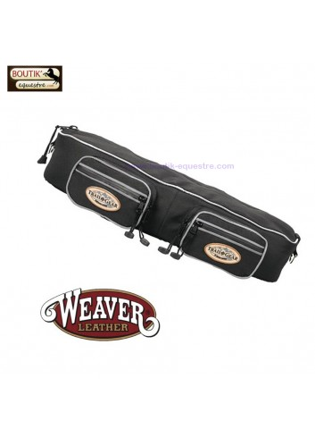 Sacoches boudin  WEAVER LEATHER - noir