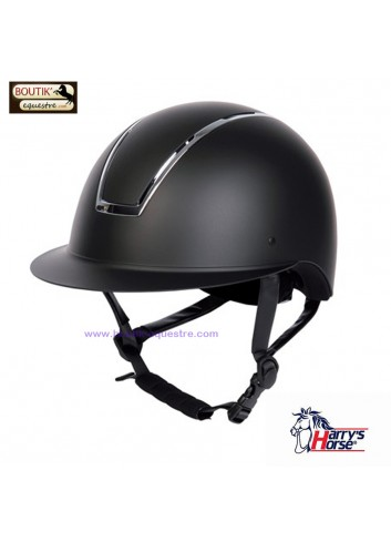 Casque Harry's Horse Royal Matt - noir / argenté