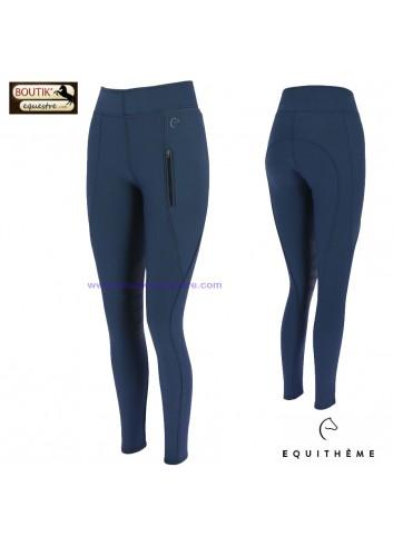 Pantalon EQUITHEME Dolomyt - marine
