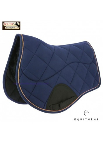Tapis de selle EQUITHEME Funny - marine