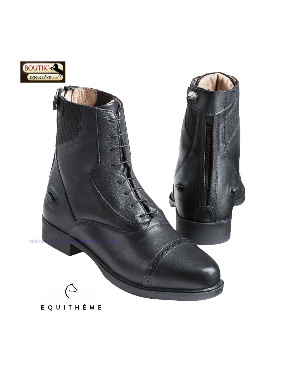 Boots EQUITHEME Confort Extrême