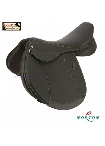 Selle Norton CLUB Close contact - brun