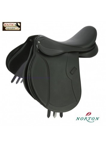 Selle Mixte Norton Club Rexine Evol - noir