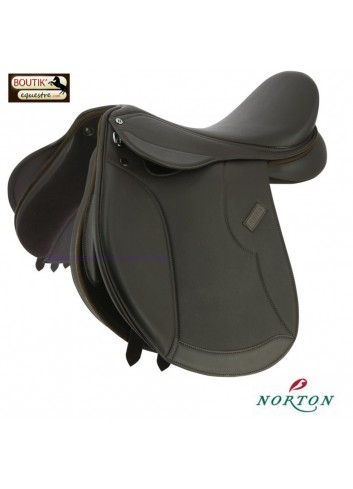 Selle Mixte Norton Club Rexine Evol - brun