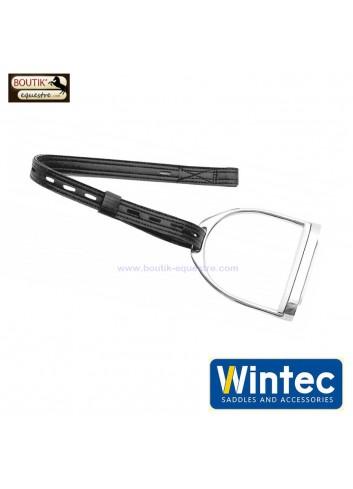 Etrivières synthétiques WINTEC à crochet - noir