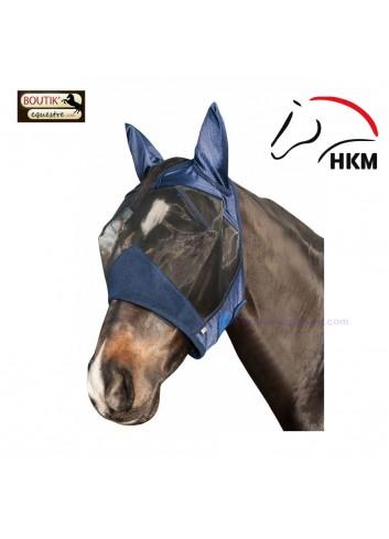 Masque Anti Mouches HKM Pro - bleu fonce
