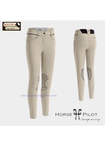 Pantalon Horse Pilot X Design femme - hunter