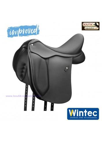 Selle WINTEC 500 Dressage Hart - noir