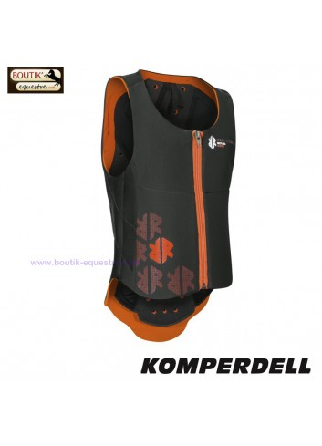 Dorsale KOMPERDELL Junior - noir/orange