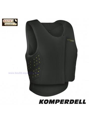 Gilet KOMPERDELL  Frontzip Junior - noir