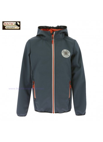 Veste Softshell TRC85 Junior - gris