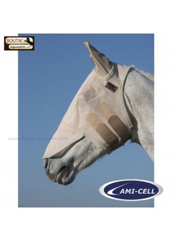 Masque Anti mouches LAMI CELL avec oreilles - beige