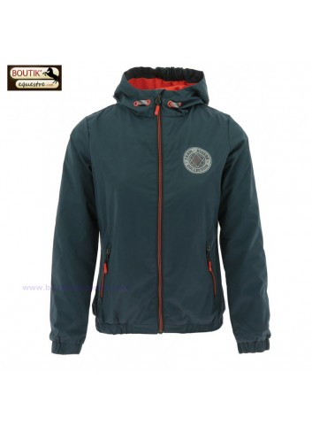 Veste imperméable TRC85 junior - anthracite