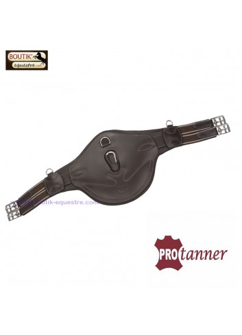 Sangle bavette Protanner Poney Cuir - havane