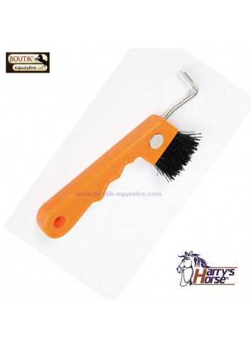 Cure Pied Harry's Horse Brosse Aimant - orange
