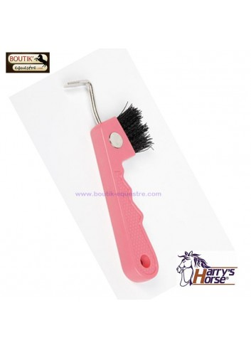 Cure Pied Harry's Horse Brosse Aimant - rose