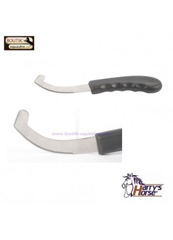 Couteau Harry's Horse Larves Taon - noir