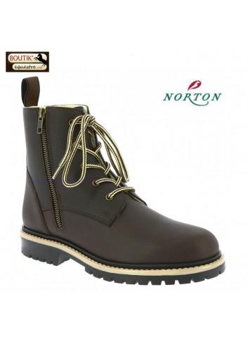 Boots Hiver NORTON Hybrid - chocolat