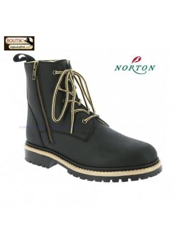Boots Hiver NORTON Hybrid - noir