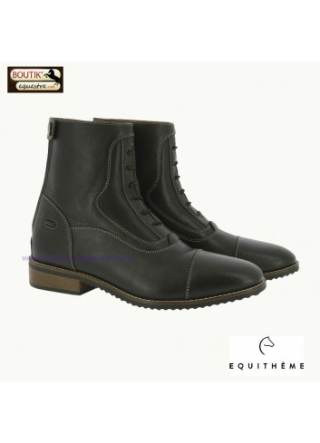Boots EQUITHEME Comfy - chocolat