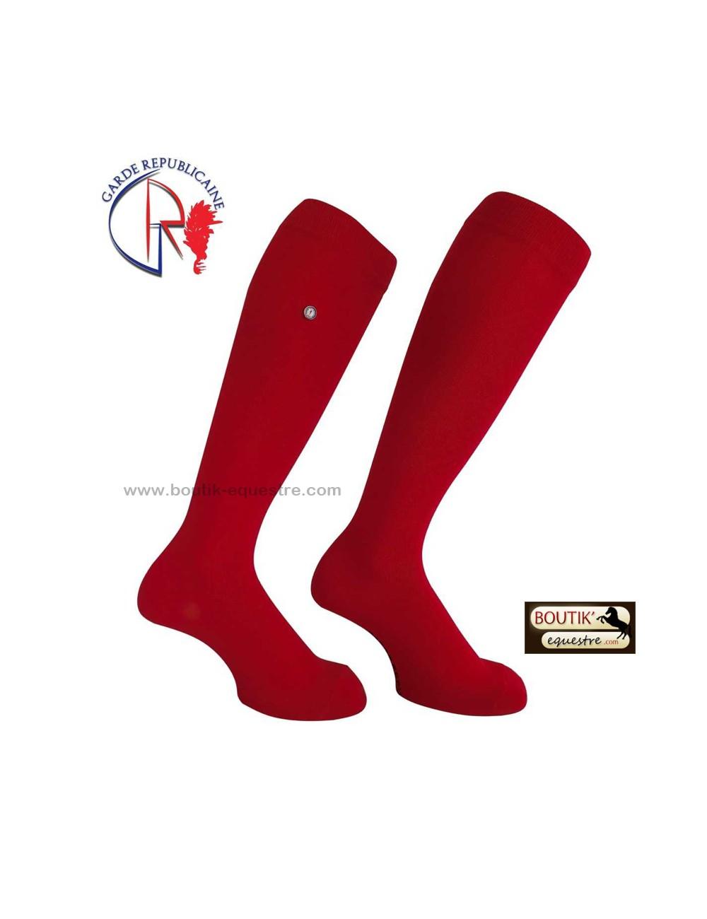 Chaussettes Garde Républicaine en Coton