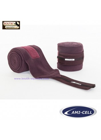Bandes de Polo Lami Cell Aurora - bordeaux