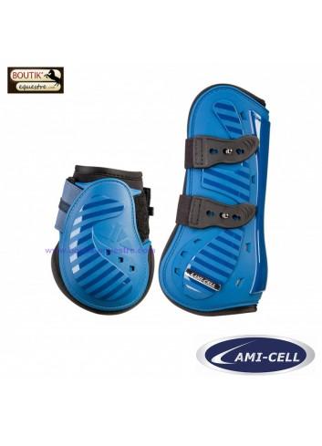 Ensemble Guêtres et Protège-boulets Lami cell Aurora - bleu